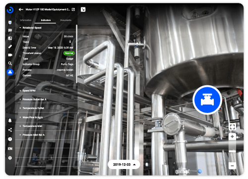 Beamo Portal Digital Twin Real time data sensor SAP Fiori Asset Management