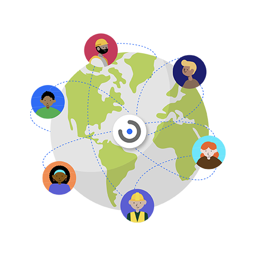 Make space for collaboration-Work remotely, achieve success globally, together.